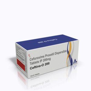 Ceftina-O-200 Tab 3D