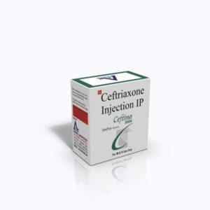CEFTINA-2000 INJ 3D